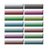 Farbige Kennsätze in 3d auf weißem Hintergrund Lizenzfreies Stockbild