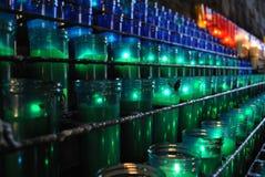 Farbige Kerzen lizenzfreies stockfoto