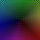 Farbige Kreise, Bälle auf einem schwarzen Hintergrund wird isoliert Stilvolle Vektor-Illustration für Webdesign vektor abbildung