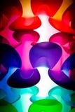 Farbige Lampe Lizenzfreies Stockbild