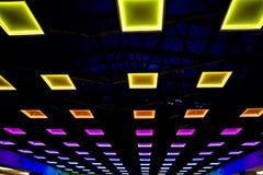 Farbige Leuchten Stockfotografie