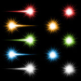 Farbige Leuchten Lizenzfreie Stockbilder