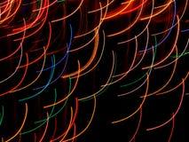 Farbige Lichtbogen Lizenzfreie Stockfotos