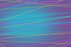 Farbige Linien abstrakter Hintergrund lizenzfreie abbildung