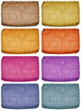 Farbige Marken Lizenzfreie Stockbilder