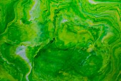 Farbige Marmormischtintenabstraktion Stockfotografie