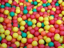 Farbige Minikugeln Stockfotografie