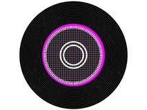 Farbige Musikvinylaufzeichnung Lizenzfreies Stockfoto