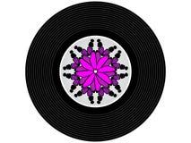 Farbige Musikvinylaufzeichnung Stockbilder