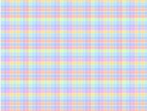 Farbige Muster-Quadrate Stockfoto