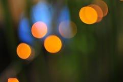 Farbige Neonleuchten stockfoto