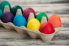 Farbige Ostereier Lizenzfreie Stockbilder