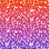 Farbige Paillette klein lizenzfreies stockfoto