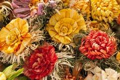 Farbige Papierblumen Lizenzfreie Stockbilder