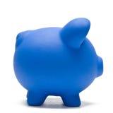 Farbige Piggy Querneigung lizenzfreie stockbilder
