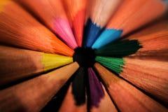 Farbige pincles Lizenzfreie Stockfotos