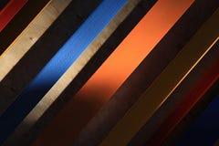Farbige Platten stockfoto