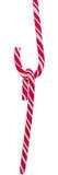 Farbige süße candys, Lutscher haftet, Sankt- Nikolausbonbons, die lokalisierten Weihnachten-candys, weißer Hintergrund Lizenzfreie Stockbilder