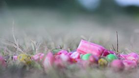 Farbige süße Süßigkeit handgemacht stock video footage
