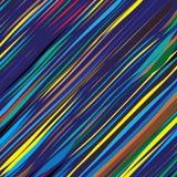 Farbige schiefe Streifen stockbilder