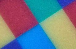 Farbige Schwämme Stockbild