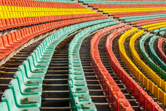 Farbige Sitze Lizenzfreies Stockfoto