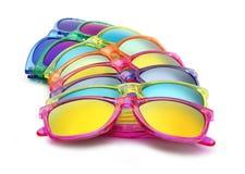 Farbige Sonnenbrille, Sommerkonzept Lizenzfreies Stockfoto