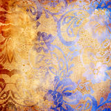 Farbige Spitzen- Muster lizenzfreie abbildung