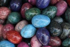 Farbige Steine Stockfoto