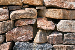 Farbige Steine, Felsen, gestapelt Lizenzfreie Stockbilder
