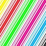 Farbige Streifen Stockfoto