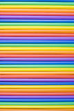 Farbige Strohe Lizenzfreie Stockbilder