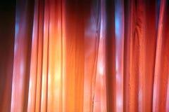 Farbige Stufe-Trennvorhänge Lizenzfreie Stockfotografie