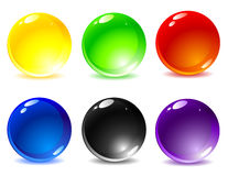 Farbige Tasten Stockfoto