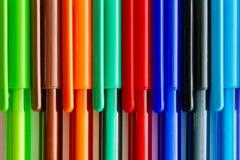 Farbige Tintenstifte Lizenzfreie Stockbilder