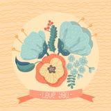 Farbige und Schwarzweiss-Blendenblume Stockfoto