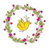 Farbige und Schwarzweiss-Blendenblume lizenzfreie abbildung