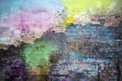 Farbige Wand Stockfoto