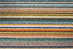 Farbige Wolldecken- oder Mattenbeschaffenheit Lizenzfreies Stockfoto