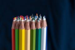 Farbige Zeichenstifte Lizenzfreies Stockbild