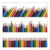 Farbige zeichnende Bleistifte lizenzfreies stockfoto
