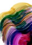 Farbige Zeilen Stockbild