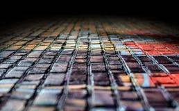 Farbige Ziegelsteine. lizenzfreies stockfoto