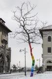Farbiger Baum Stockbild