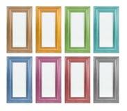 Farbiger Bilderrahmen Stockbilder