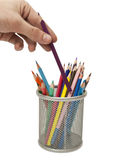 Farbiger Bleistift Stockfoto