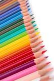 Farbiger Bleistift lizenzfreies stockfoto