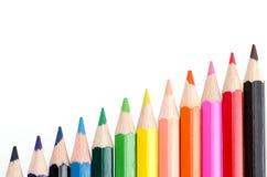 Farbiger Bleistift Lizenzfreie Stockfotografie