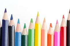Farbiger Bleistift Stockbild