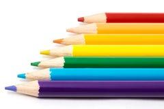 Farbiger Bleistift Lizenzfreies Stockbild